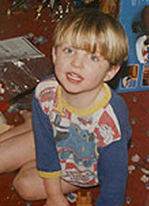 Rian Cooper de niño