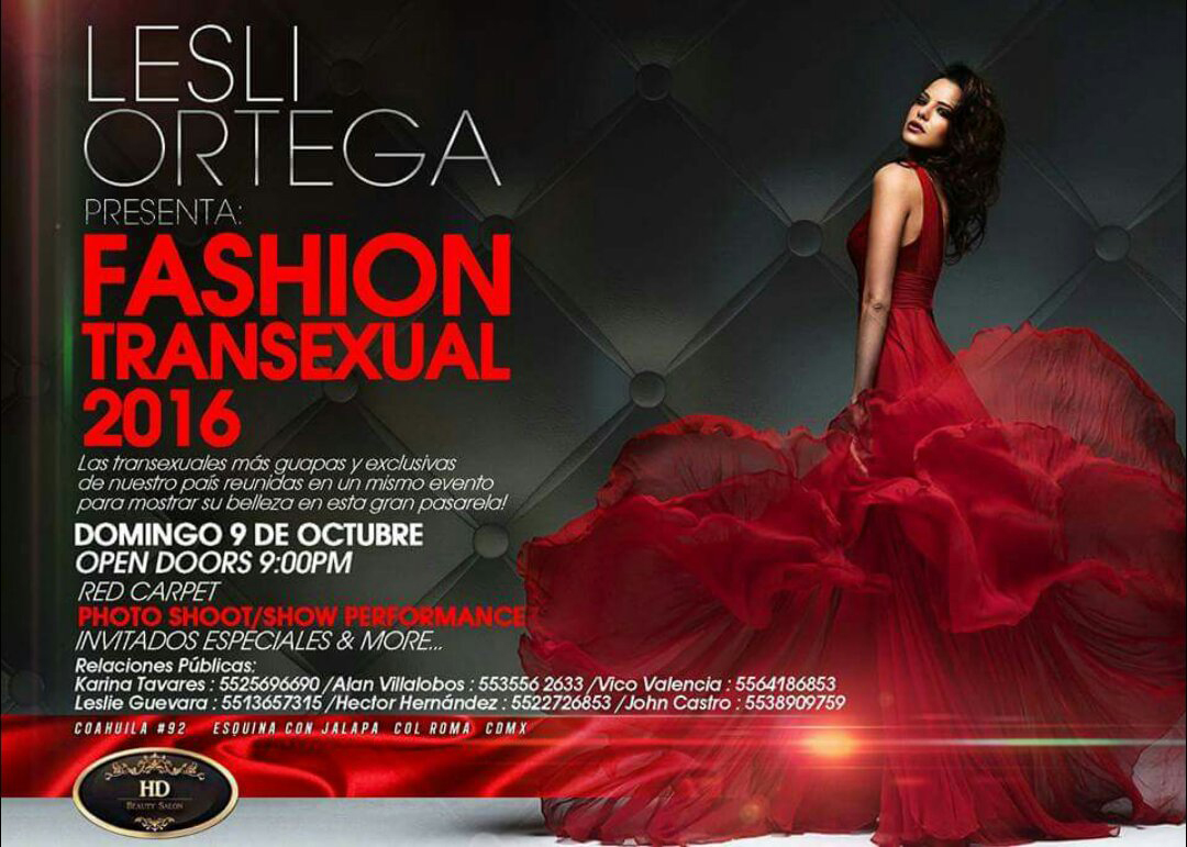 Fashion Transexual 2016