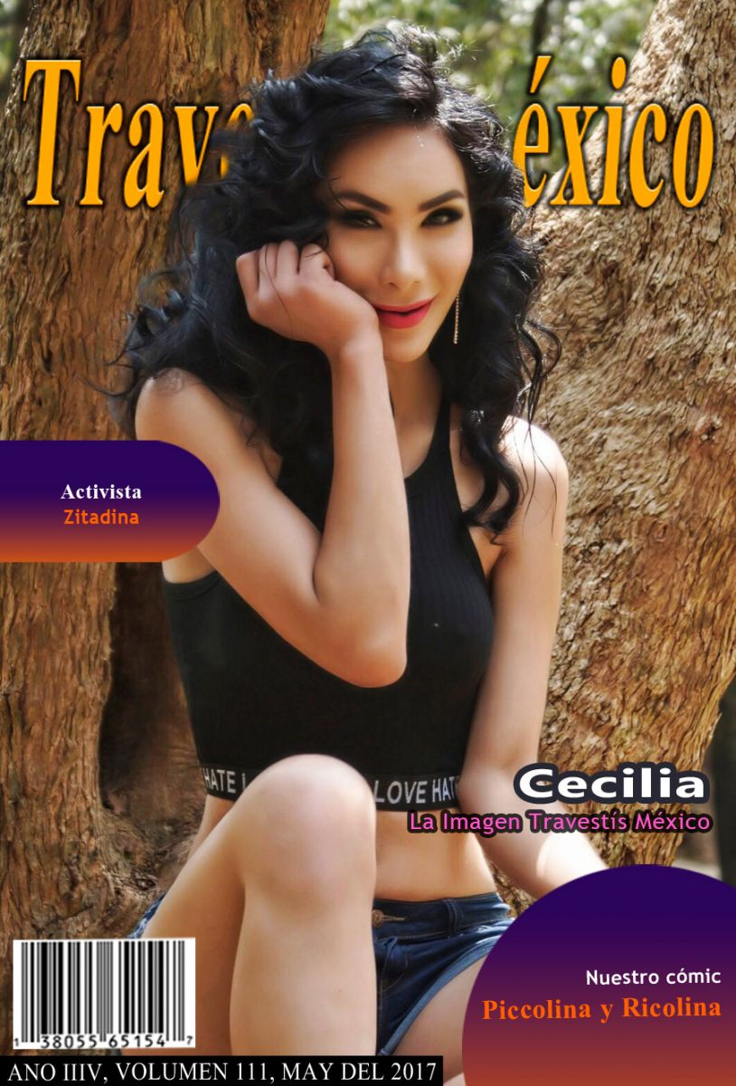 Cecilia la imagen del mes de mayo