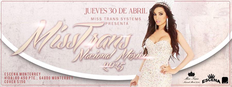 Miss Trans Nacional México 2015