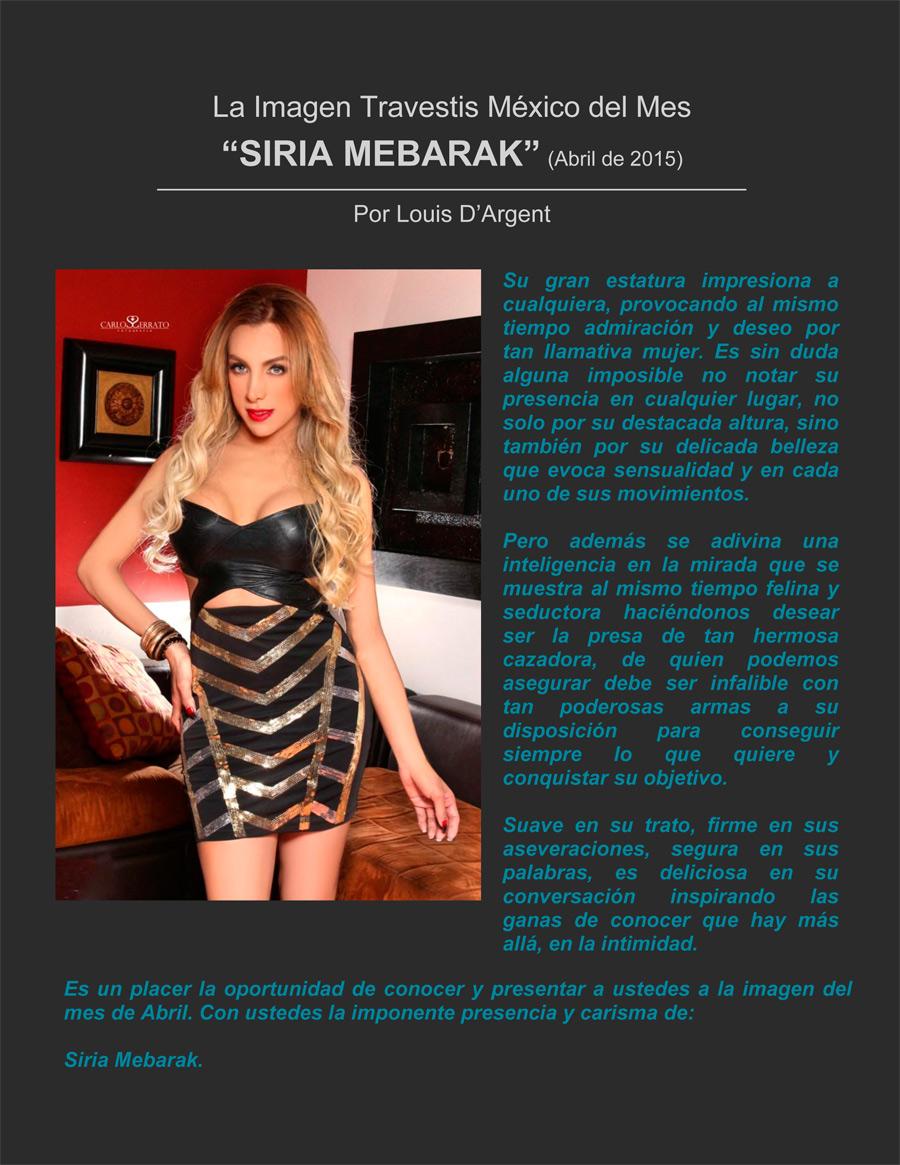 Entrevista Siria Mebarak Foto 1