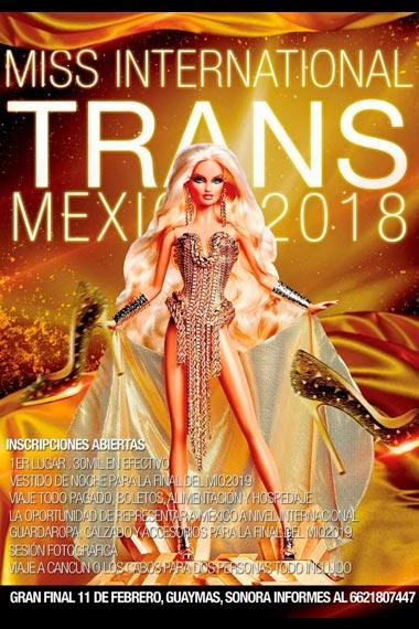 Miss International Trans 2018